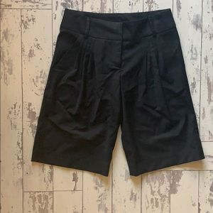 DVF black Bermuda shorts , size 0